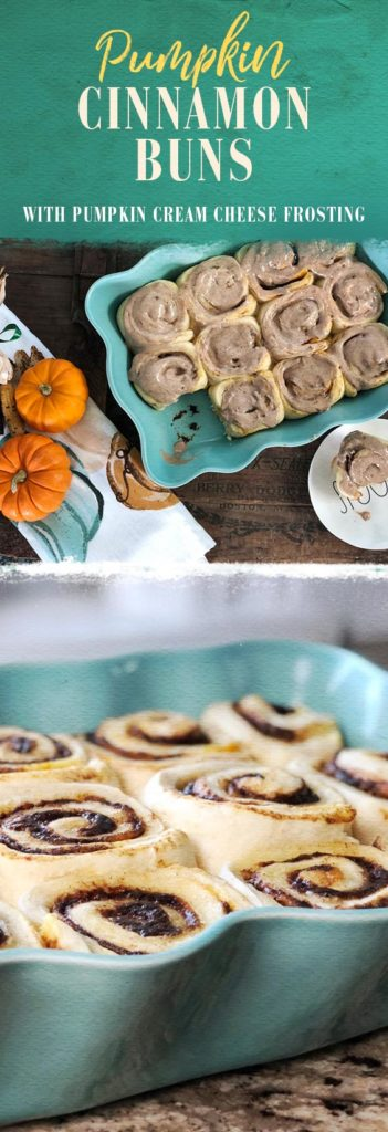 These pumpkin cinnamon rolls are perfect for weekend breakfasts in the fall! Check out the full recipe now.