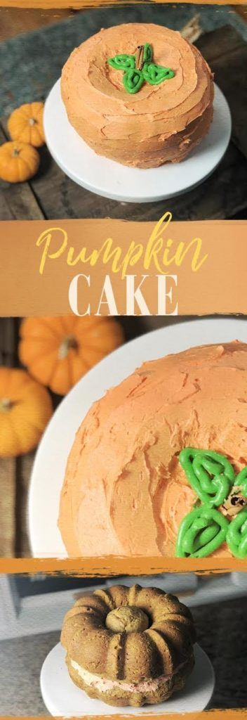 Learn how to make a pumpkin shaped cake using bundt pans now!