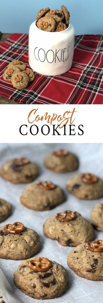 This compost cookies recipe is salty, sweet, and delicious!