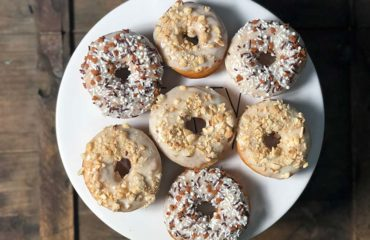 This cardamom donuts recipe utilizes the spice both in the dough and the frosting.
