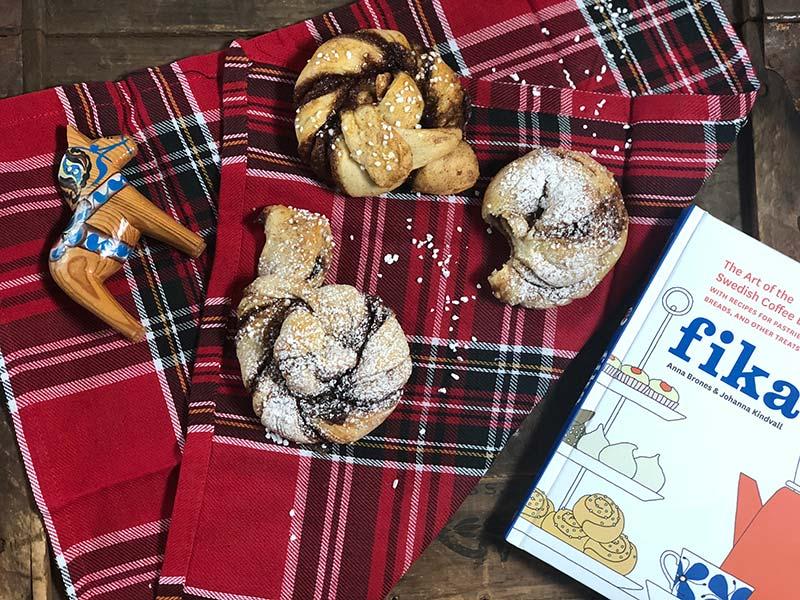 These Swedish cinnamon buns are a fika staple.
