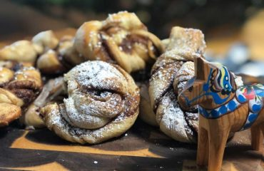 These Swedish cinnamon buns are made with cardamom and active dry yeast.