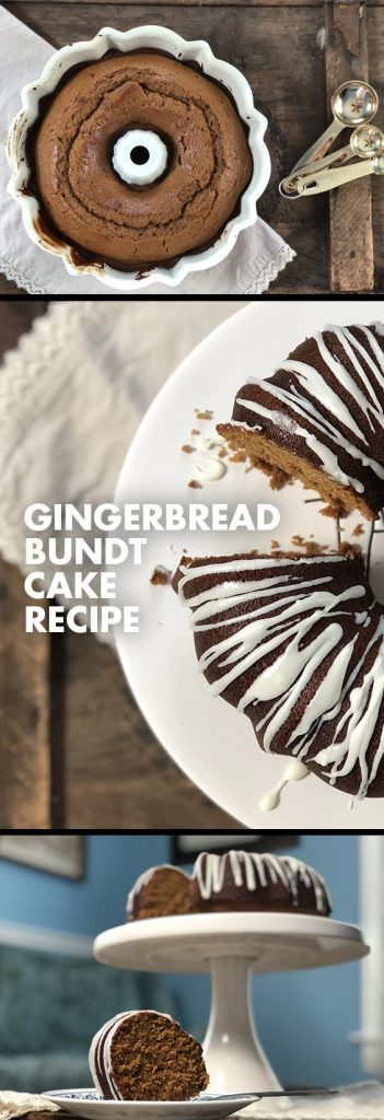 This delicious gingerbread bundt cake will be the star of your Christmas dessert table! Get the recipe now.