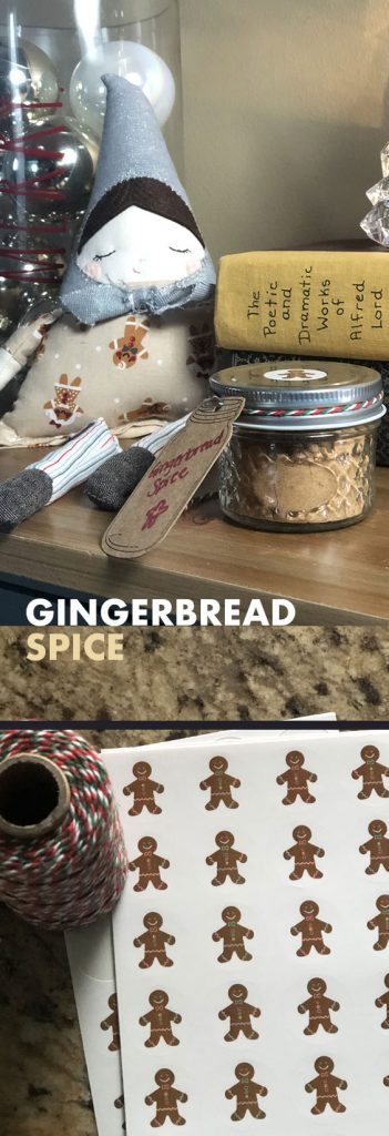 This simple gingerbread spice mix recipe consists of 5 ingredients and only takes 5 minutes to make!