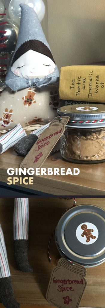 This gingerbread spice mix makes for the perfect DIY homemade Christmas gift!